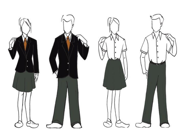 Entry #27 by Ewehouse for Design school uniform for 16 - 18