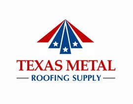 #151 for Design a Logo for Texas Metal Roofing Supply af nilankohalder