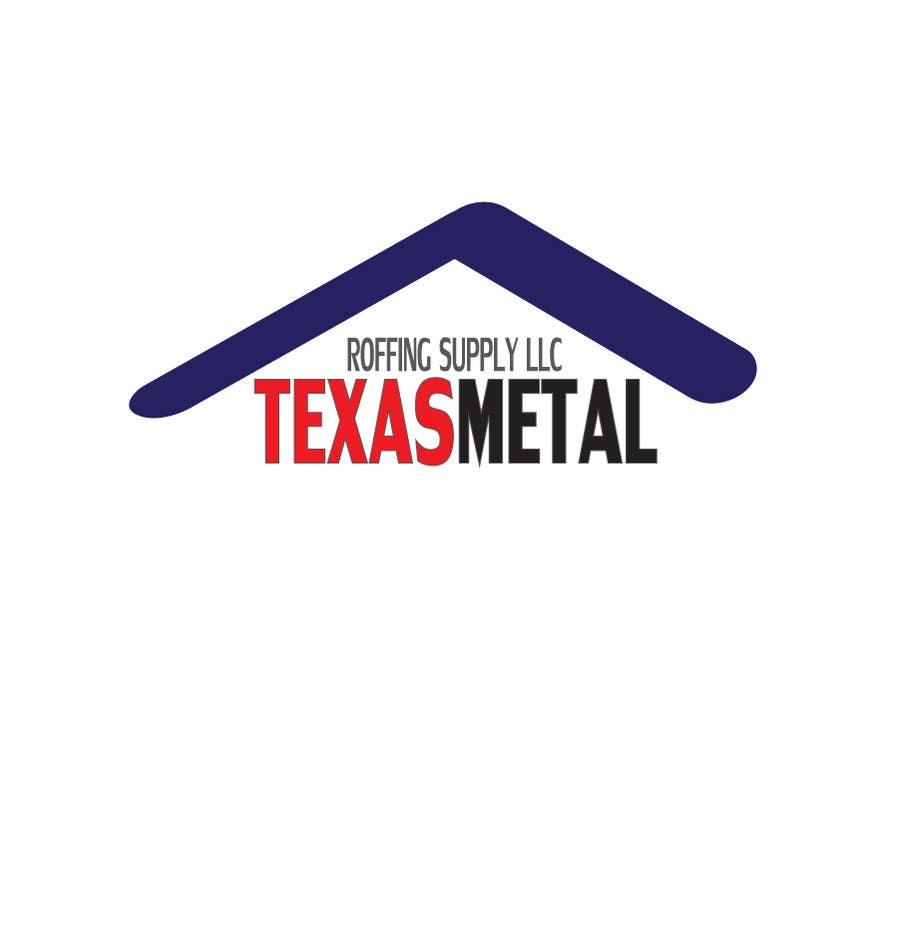 Bài tham dự cuộc thi #                                        55                                      cho                                         Design a Logo for Texas Metal Roofing Supply