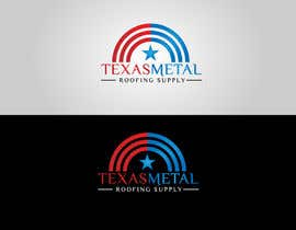 #147 for Design a Logo for Texas Metal Roofing Supply by Cbox9