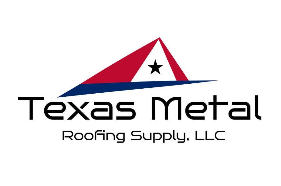 Bài tham dự cuộc thi #                                        24                                      cho                                         Design a Logo for Texas Metal Roofing Supply