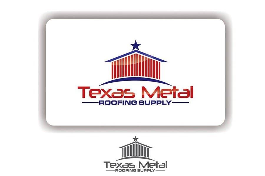 Bài tham dự cuộc thi #                                        110                                      cho                                         Design a Logo for Texas Metal Roofing Supply
