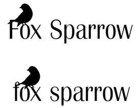 nº 55 pour Design a Logo for Fox Sparrow par cecalli