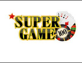 #33 for Ontwerp een Logo for supergame.be af mirceabaciu