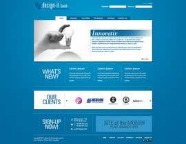 jappybe tarafından Website Design for .design-it GmbH - software.internet.consulting için no 7