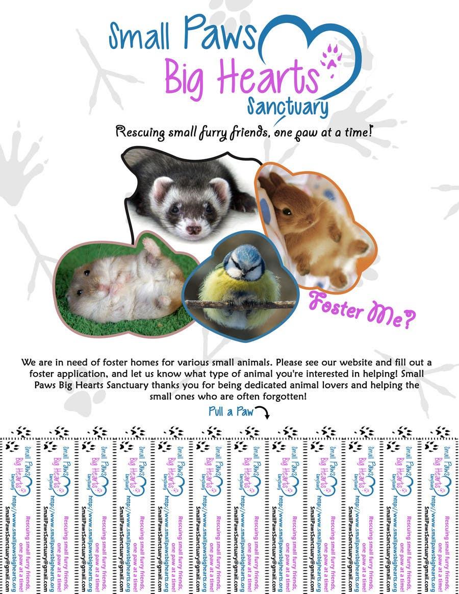 Bài tham dự cuộc thi #                                        20                                      cho                                         Design a Flyer for a small animal rescue