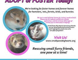 #46 for Design a Flyer for a small animal rescue af Dav18tx