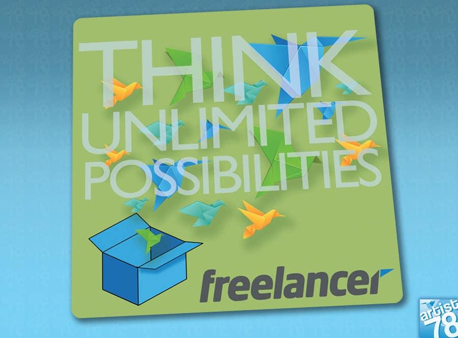 Bài tham dự cuộc thi #                                        88                                      cho                                         Help the Freelancer design team design a new die cut sticker
