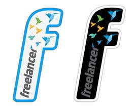#29 untuk Help the Freelancer design team design a new die cut sticker oleh venug381