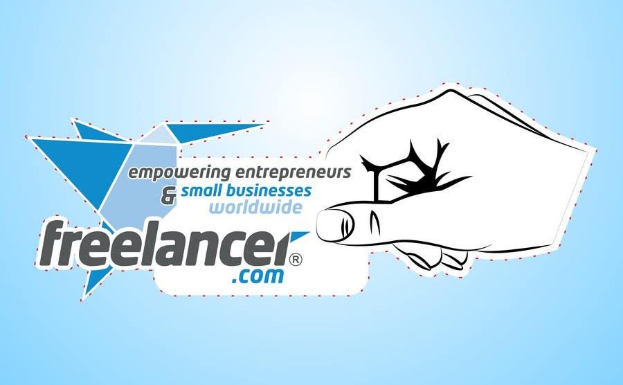 Bài tham dự cuộc thi #                                        33                                      cho                                         Help the Freelancer design team design a new die cut sticker