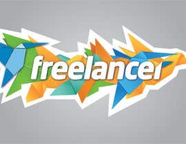 nº 41 pour Help the Freelancer design team design a new die cut sticker par pixelrover
