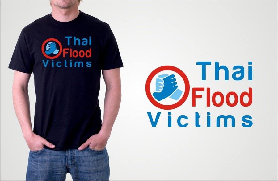 Participación en el concurso Nro.114 para T-Shirt Design for Thai Flood Victims