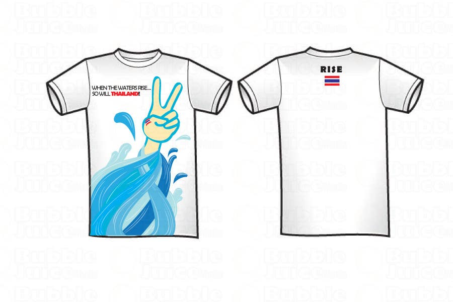 Participación en el concurso Nro.106 para T-Shirt Design for Thai Flood Victims