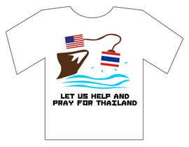 #117 para T-Shirt Design for Thai Flood Victims por Anmech