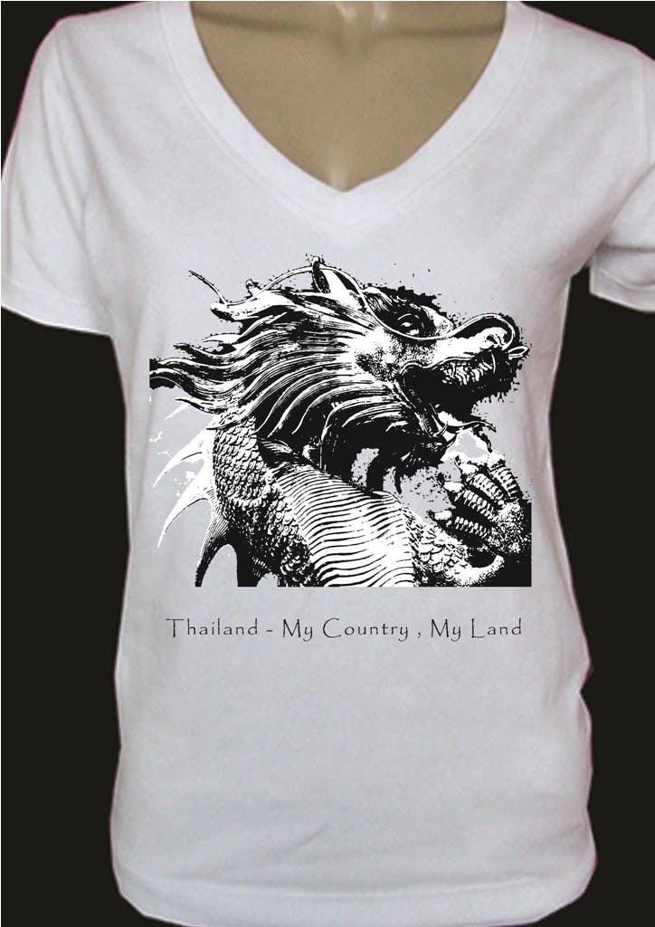 Participación en el concurso Nro.71 para T-Shirt Design for Thai Flood Victims