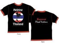Graphic Design Inscrição do Concurso Nº52 para T-Shirt Design for Thai Flood Victims
