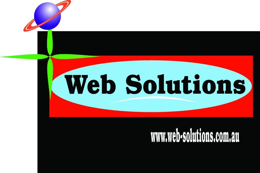 """Intrarea #121 pentru concursul """"Graphic Design for Web Solutions"""""""