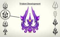 Contest Entry #25 for High Quality Fantasy Trident Staff Logo Design