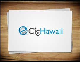 #51 for Design a Logo for E-CIG HAWAII af trying2w