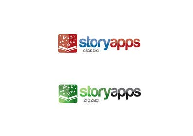 #76 untuk Design a Logo for storyapps - plus two variations of logo oleh paxslg