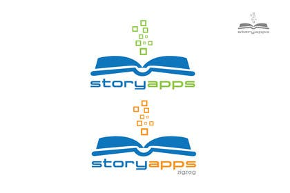 #73 para Design a Logo for storyapps - plus two variations of logo por iffikhan