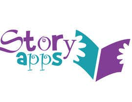 #45 untuk Design a Logo for storyapps - plus two variations of logo oleh cristinacroitoru
