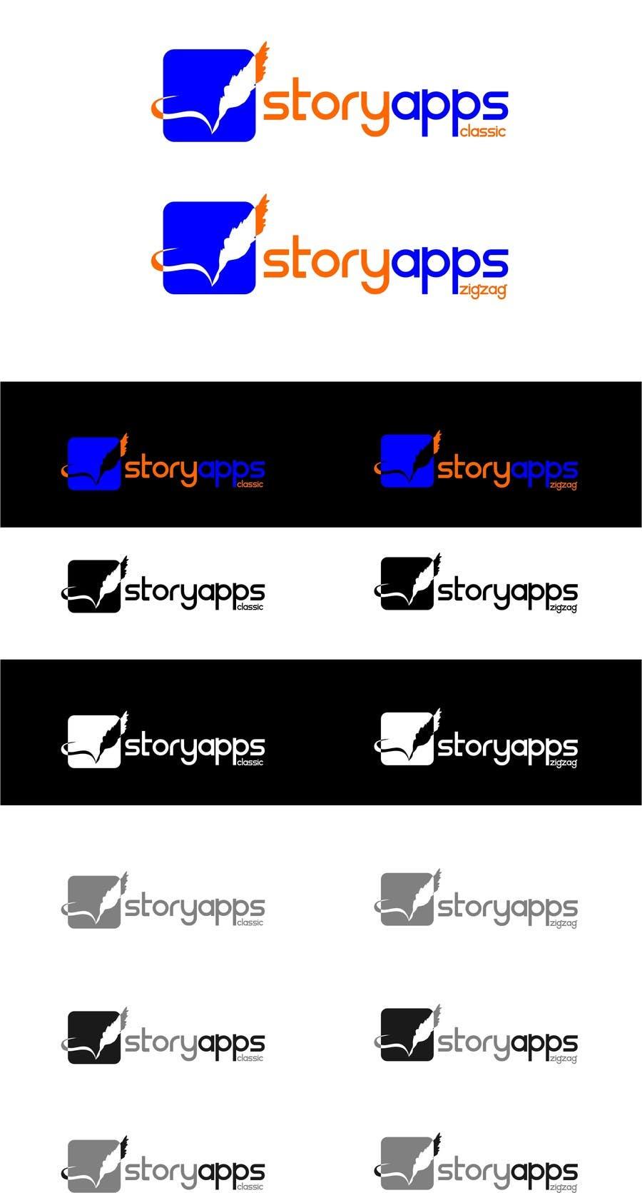Penyertaan Peraduan #65 untuk Design a Logo for storyapps - plus two variations of logo
