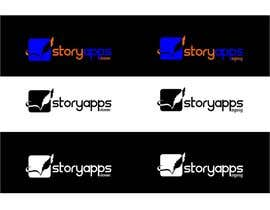 #65 untuk Design a Logo for storyapps - plus two variations of logo oleh airbrusheskid