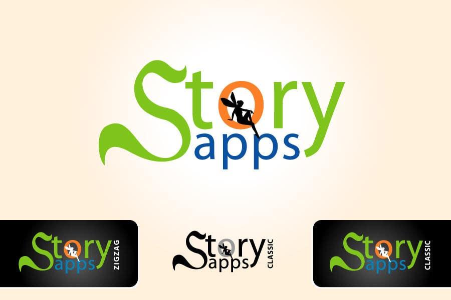 Penyertaan Peraduan #83 untuk Design a Logo for storyapps - plus two variations of logo