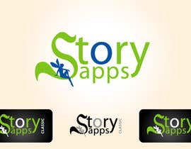 #84 para Design a Logo for storyapps - plus two variations of logo por creativdiz