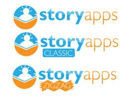 #53 untuk Design a Logo for storyapps - plus two variations of logo oleh LucianCreative