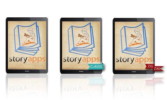 Penyertaan Peraduan #56 untuk Design a Logo for storyapps - plus two variations of logo
