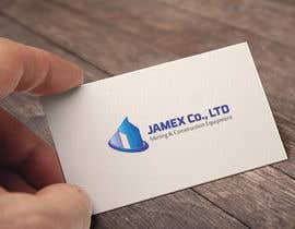 Nro 36 kilpailuun logo for jamex.co.jp a construction equipment exporter from tokyo käyttäjältä tmshipon5