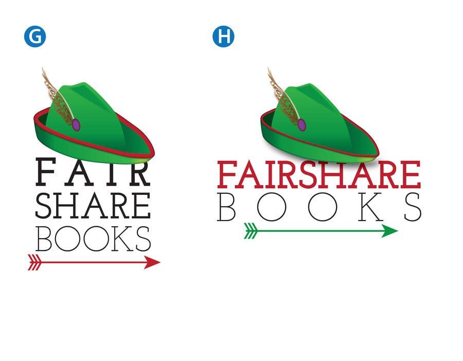 #65 for Design a Logo for FairShare Books by irvingguerrero