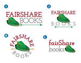 #81 para Design a Logo for FairShare Books por irvingguerrero