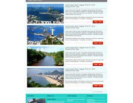 #15 cho Create a Website Layout for a Tourism Company bởi grafixeu