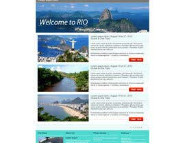 #17 cho Create a Website Layout for a Tourism Company bởi grafixeu