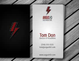 nº 33 pour Business Card Design Contest : Using logo provide par amitpadal