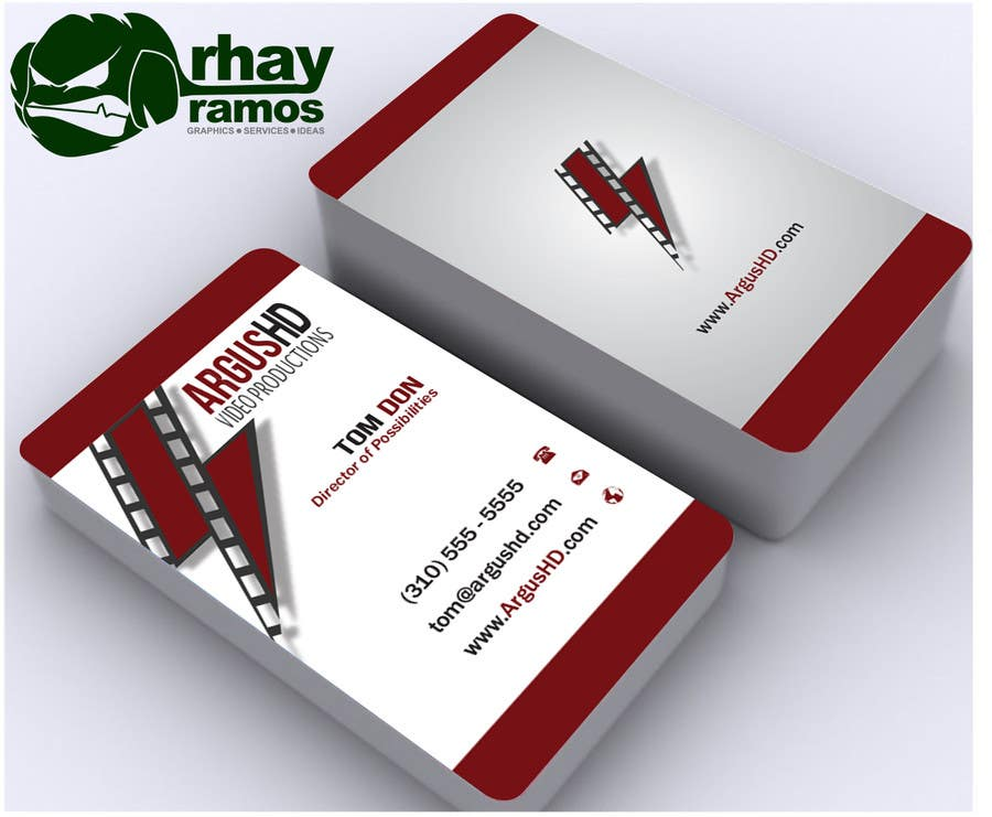 #47 for Business Card Design Contest : Using logo provide by rhayramos11