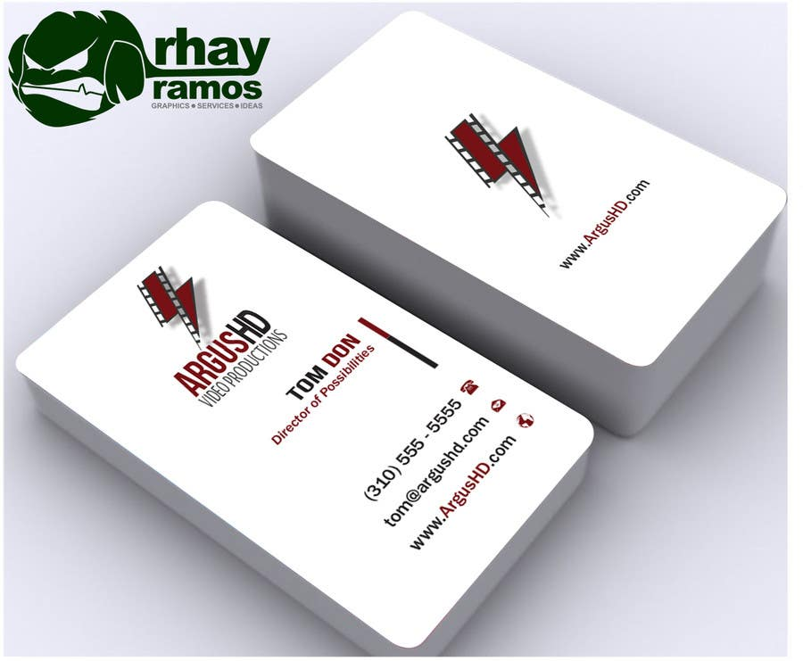 #50 for Business Card Design Contest : Using logo provide by rhayramos11