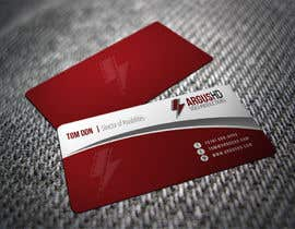 nº 22 pour Business Card Design Contest : Using logo provide par shyRosely