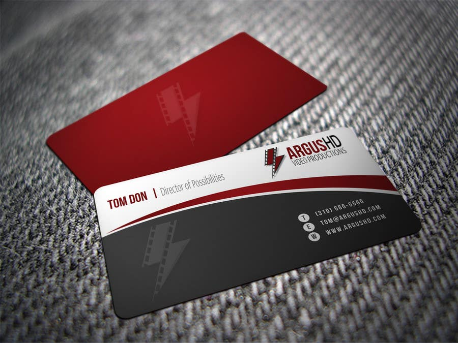 #25 for Business Card Design Contest : Using logo provide by shyRosely