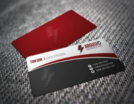 nº 25 pour Business Card Design Contest : Using logo provide par shyRosely