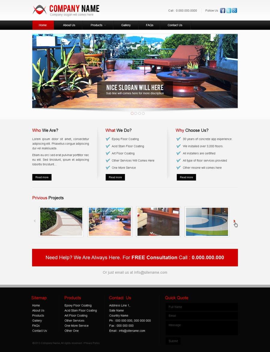 #12 for Build a Website for Construction / Concrete Work by uniqueclick
