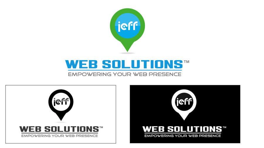 Bài tham dự cuộc thi #                                        61                                      cho                                         Design a Logo for Jeff Web Solutions