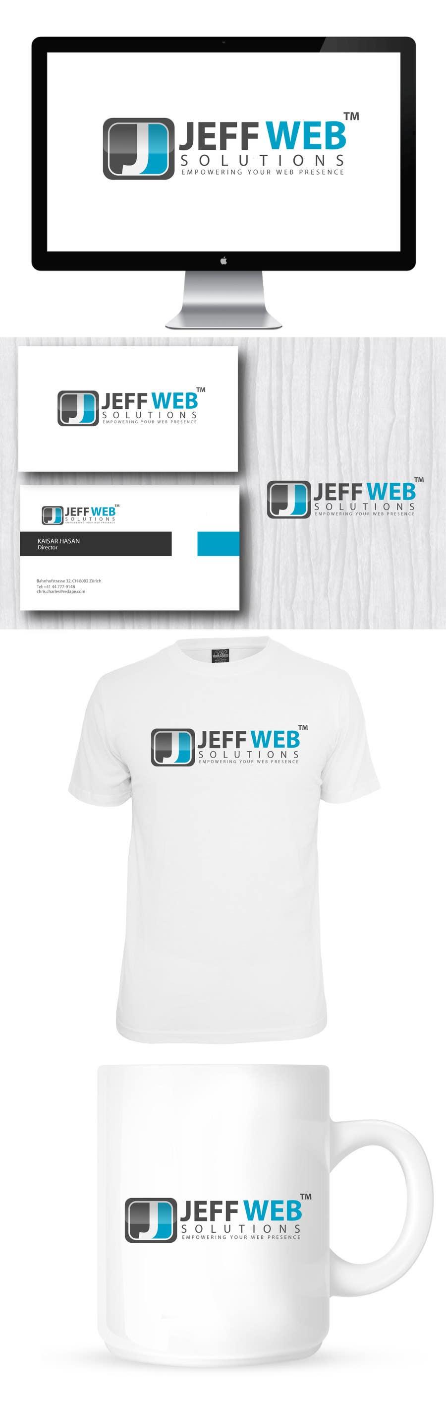 Bài tham dự cuộc thi #                                        65                                      cho                                         Design a Logo for Jeff Web Solutions