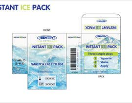LucaMolteni tarafından 2 x ARTWORK PACKAGING (INSTANT ICE PACK & NON-WOVEN PAPER TAPE) için no 4