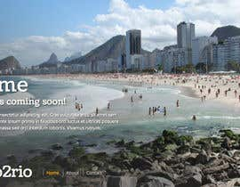 #23 para Design a Website Mockup for wannago2rio.com.au por RylanSzopa