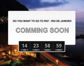 #8 for Design a Website Mockup for wannago2rio.com.au by shankardesigner
