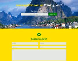 #6 for Design a Website Mockup for wannago2rio.com.au by JosephNgo